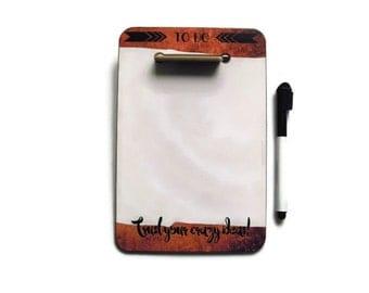 Customised Desktop Memoboard / dry erase board / whiteboard