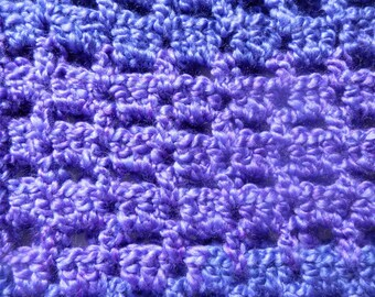 Scarf, Purple Cowl, Short Cowl