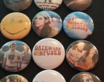 Dazed and Confused Button set of 9