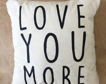 Love You More Graphic