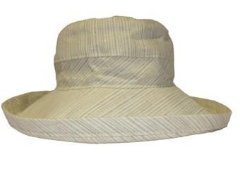 The Noosa Hat   Santa Monica   Linen   Narrow Brim