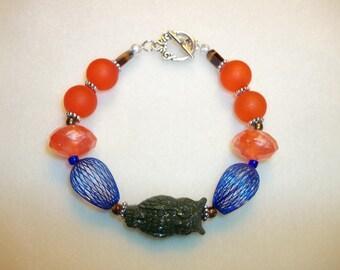 Owl Beaded Bracelet