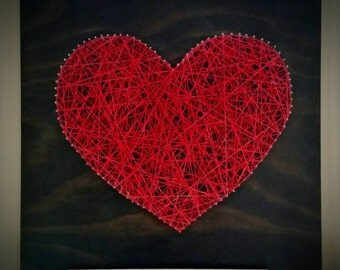 Heart String Art- Extra Large