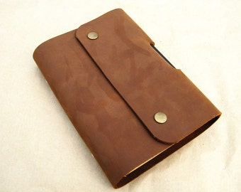Leather bound notebook leather bound journal personalized leather journal refillable leather journal mens leather journal line paper journal
