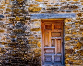 Door at Mission San Jose