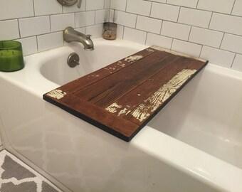 Hand made bath table
