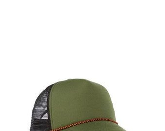 Military Green Snap Back