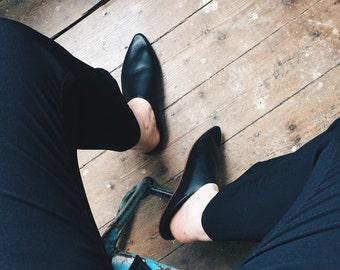 Morocco Leather slipper slipper both men and women - slipper Moroccan leather unisex