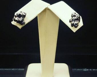 Asteroid stud earrings