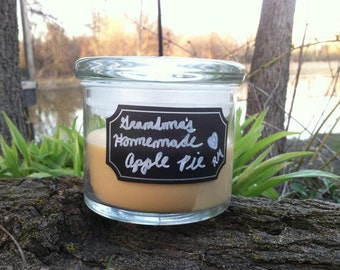 Grandma's Homemade Apple Pie Wood Wick Candle