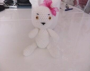 Crochet soft toy Rabbit
