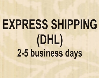 Rush-EXPRESS Shipping in 2-5 days to EU, USA, Canada, Australia package up to 1.5 kg