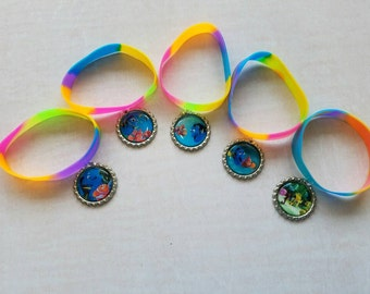 10 Pieces - Finding Dory  bracelets party favors