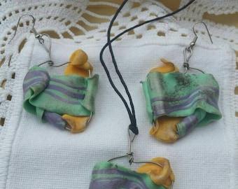 Handmade jewerly set