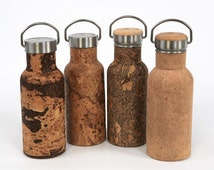 ReBOTTLE 550ml Stainless-Steel Water Bottle covered with Cork