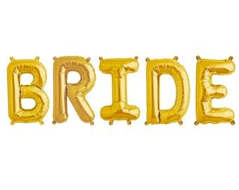 Bride Balloon Banner