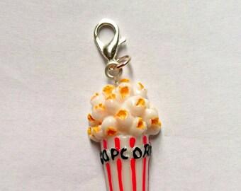Popcorn Stitch Marker/Progress Keeper/Zipper Pull/Charm