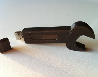USB flash drive 16 GB, wrench, personalized