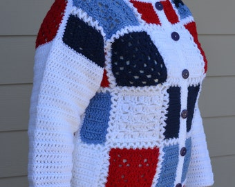 Patriotic Women's Sweater