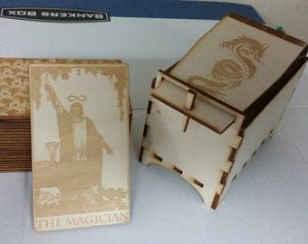 Dragon Backed Tarot Cards - Major Arcana Only