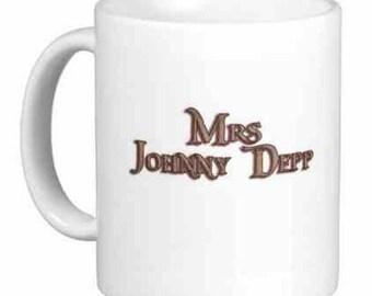 Mrs Johnny Depp Mug