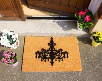Chandelier Doormat - Chic - Made in the UK