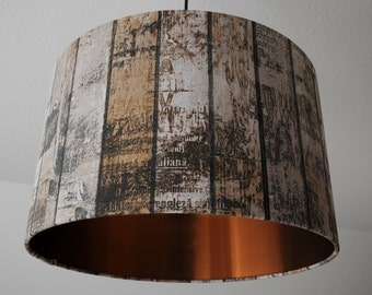 "Ceiling lamp ""Shabby Chic-copper"" (ceiling lamp shade)"