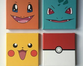 Pokemon Canvas wall art