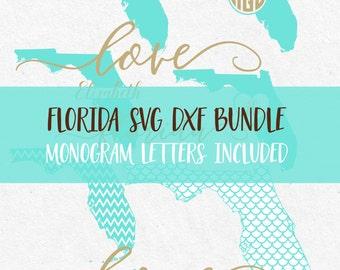 Florida Svg Bundle Svg Fonts Svg monogram frames svg monograms files for silhouette svg files for cricut svg files sayings svg svg mermaid