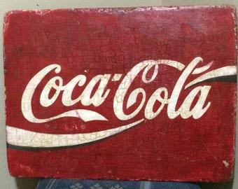 Custom Coca Cola Vintage Sign