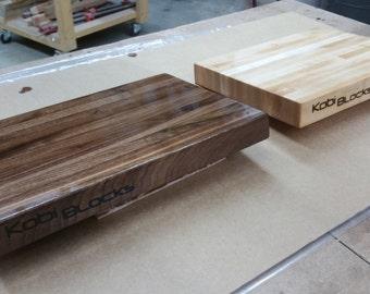 Walnut Edge Grain Cutting Board 8 x 8 x 1.5