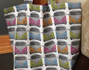 Unique Campervan tote bag
