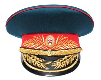 Infantry troops Parade Visor hat Soviet Generals