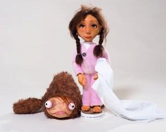 Manuelita y El Coco