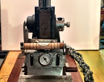 Lion Company Vintage Monogram and Engraving Machine