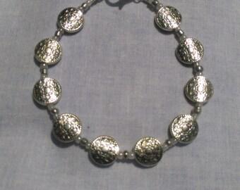 Beaded Clip Bracelet