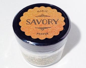 Garlic Pepper