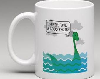 Nessie...The Loch Ness Monster... Scottish Mug