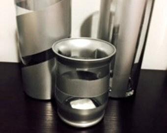 Metallic Gray Vase Set