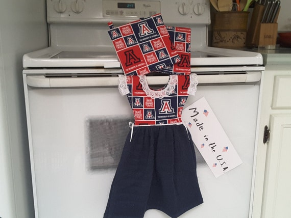 kitchen towel dress with potholders 2000