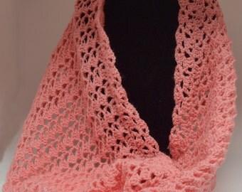 infinity scarf / crochet infinity scarf / crochet scarf / knit scarf
