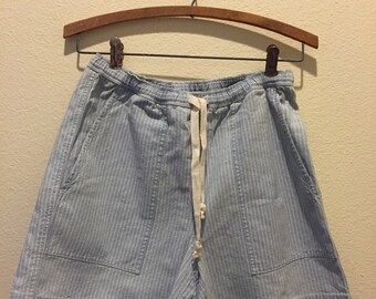 Vinatge Ralph Lauren High-Waisted Drawstring Shorts