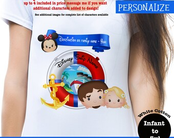 Family Disney Cruise Shirt, Disney Cruise Tshirt, Tsum Tsum Cruise Tee