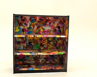 Collage Book Shelf