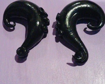 Black octopus gages