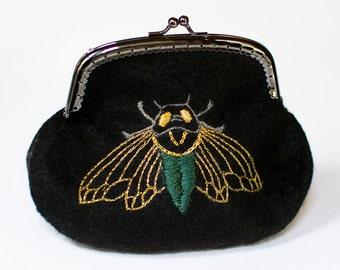 Cicada Coin Purse