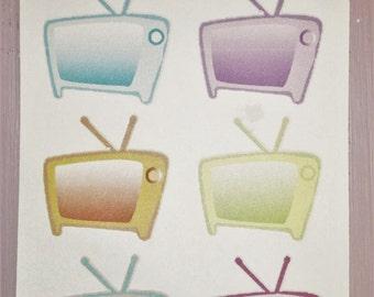 Tv Schedule Stickers