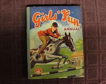 Girls Fun Annual - 1953