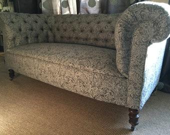 Antique Chesterfield Victorian Sofa