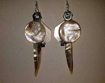 DareByKionde #Tribal collection earrings